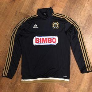 Men's S Adidas PHILADELPHIA UNION Pullover soccer